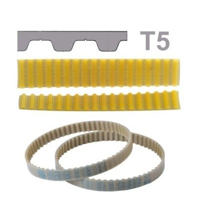 Ремень полиуретановый T5 330 (рукав)