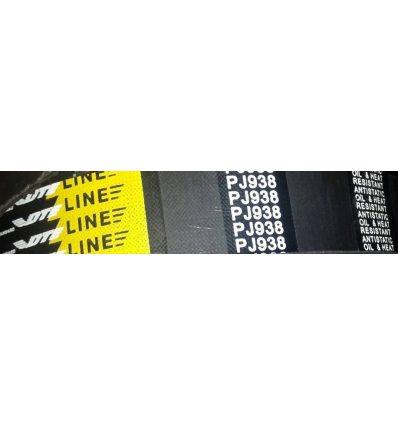 Ремень поликлиновой  12 PJ 938