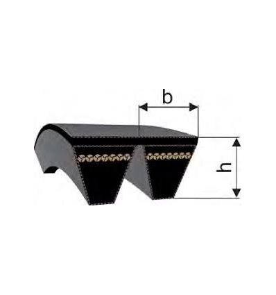 Ремінь багаторучейковий   2x 5V/15J 1900