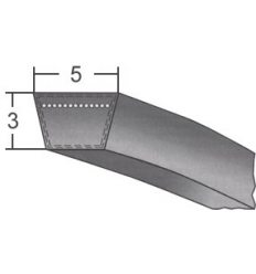 Ремінь  клиновий  5x3