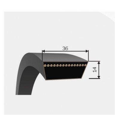 Ремень вариаторный 34,3x14-1180 Lw