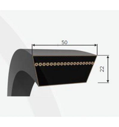 Ремень вариаторный 50x22-3870 Lw
