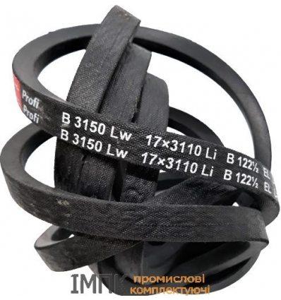 Ремень приводний клиновой  10/Z 1000 (Z 38.5)