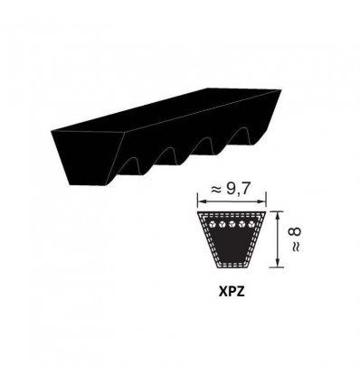 Ремінь  вузькоклиновий  XPZ 600