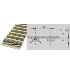 Ремінь поліуретановий T20 2600(рукав)